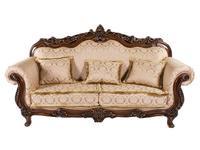 Beloni: Малетти: диван 3-х местный раскладной (орех, ткань)