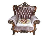 Beloni: Феллини: кресло (орех, ткань)