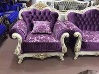 Beloni: Патриция: кресло (слоновая кость, ткань, золото)