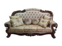 Beloni: Романо: диван 3-х местный (орех, ткань)