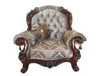 Beloni: Романо: кресло (орех, ткань)