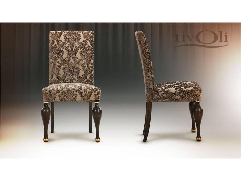 Tivoli: Буржуа: стул «Буржуа» I (мореный дуб, ткань)