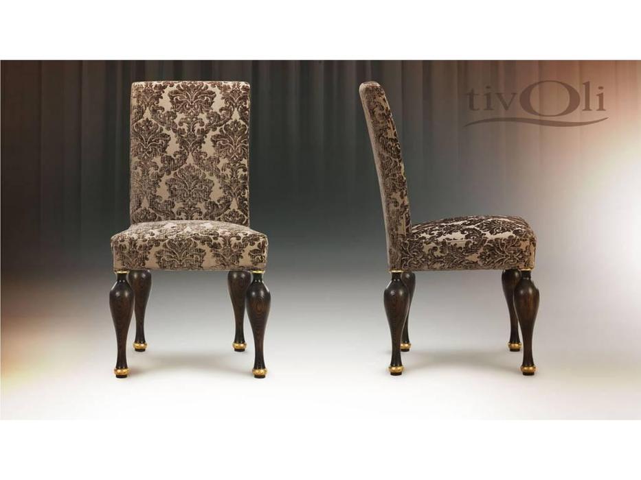 Tivoli: Буржуа: стул «Буржуа» II (мореный дуб, ткань)