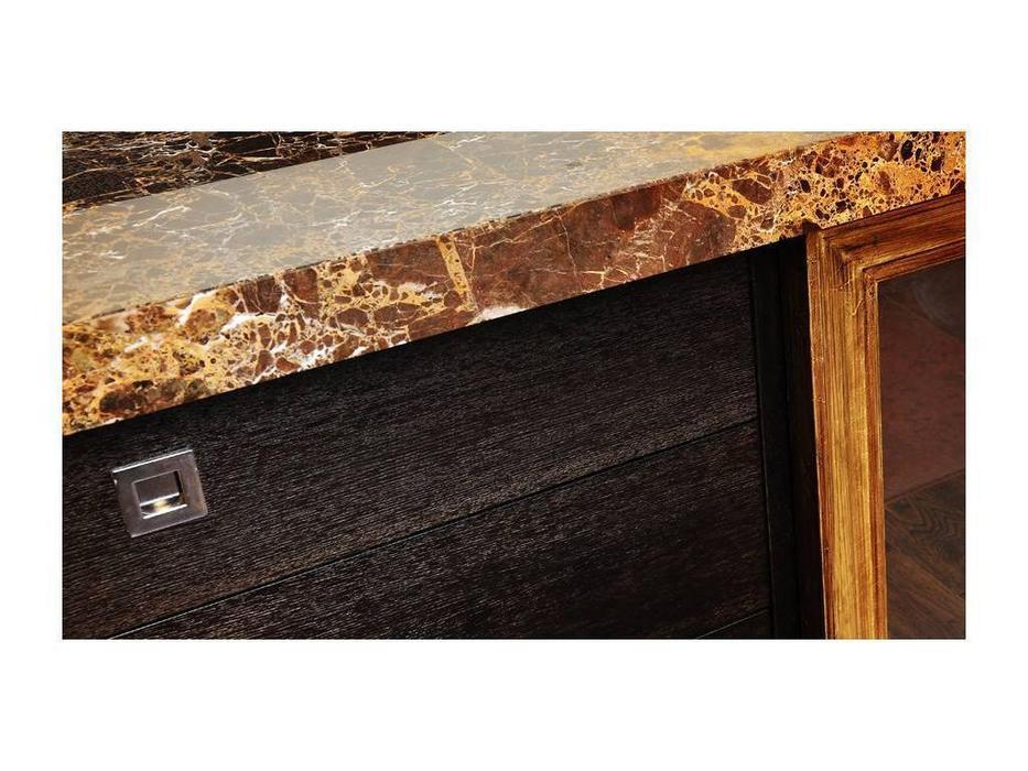 Tivoli: прилавок (мореный дуб, голд, натуральный камень)