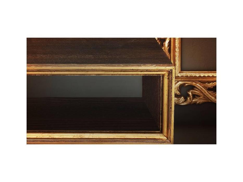 Tivoli: тумба под телевизор (мореный дуб, голд)