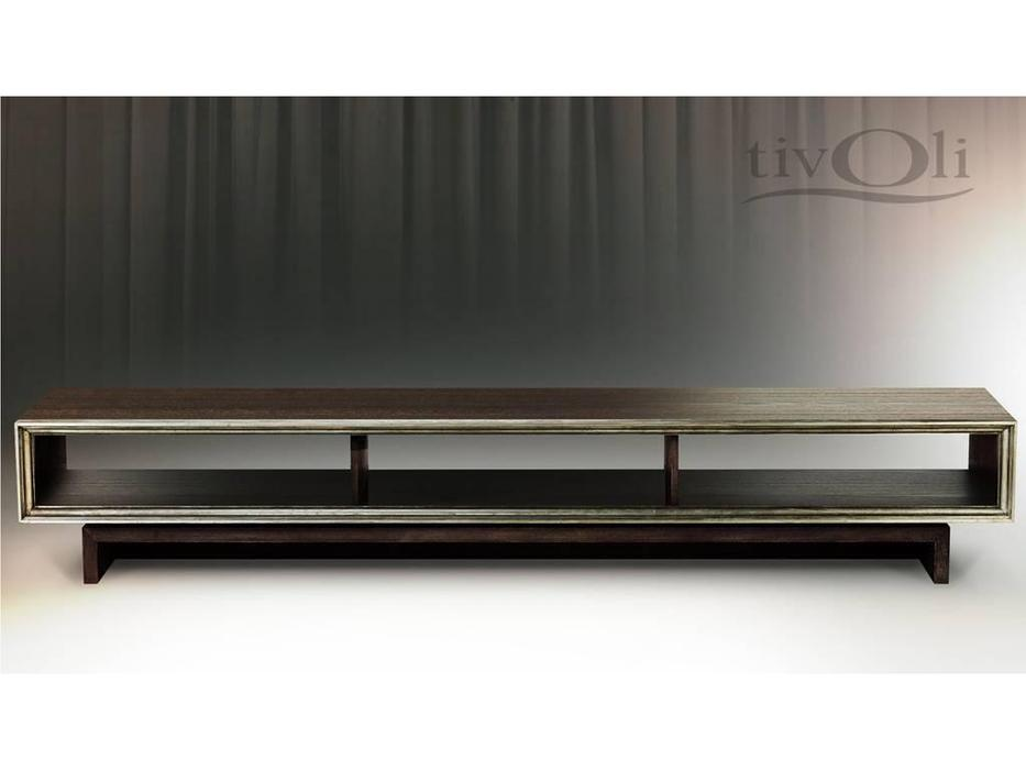 Tivoli: тумба под телевизор (мореный дуб, сильвер)