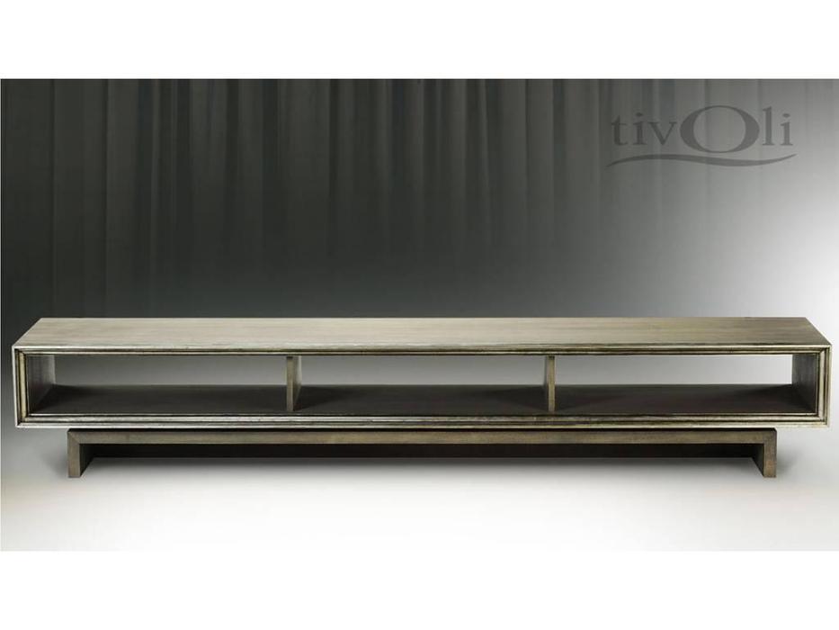 Tivoli: тумба под телевизор (глейс, сильвер)