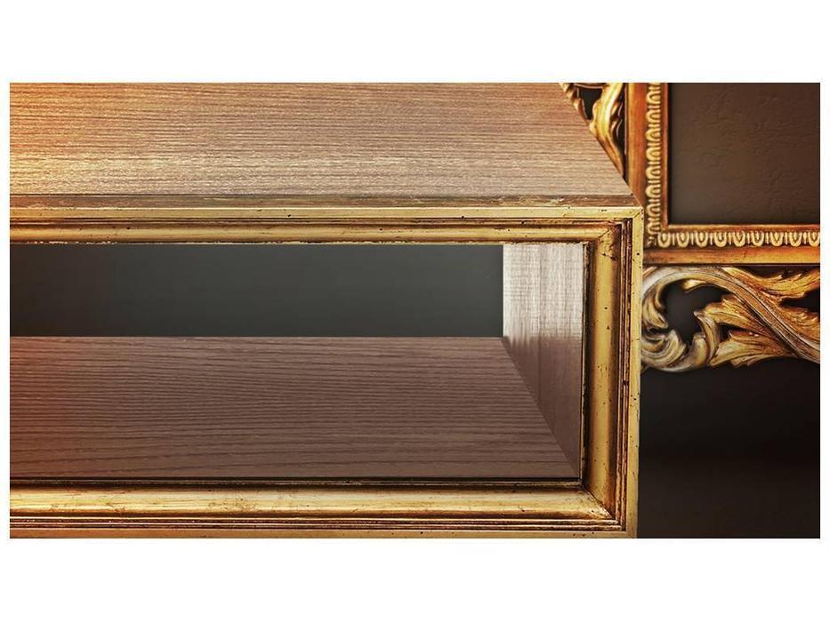 Tivoli: тумба под телевизор (патина, голд)