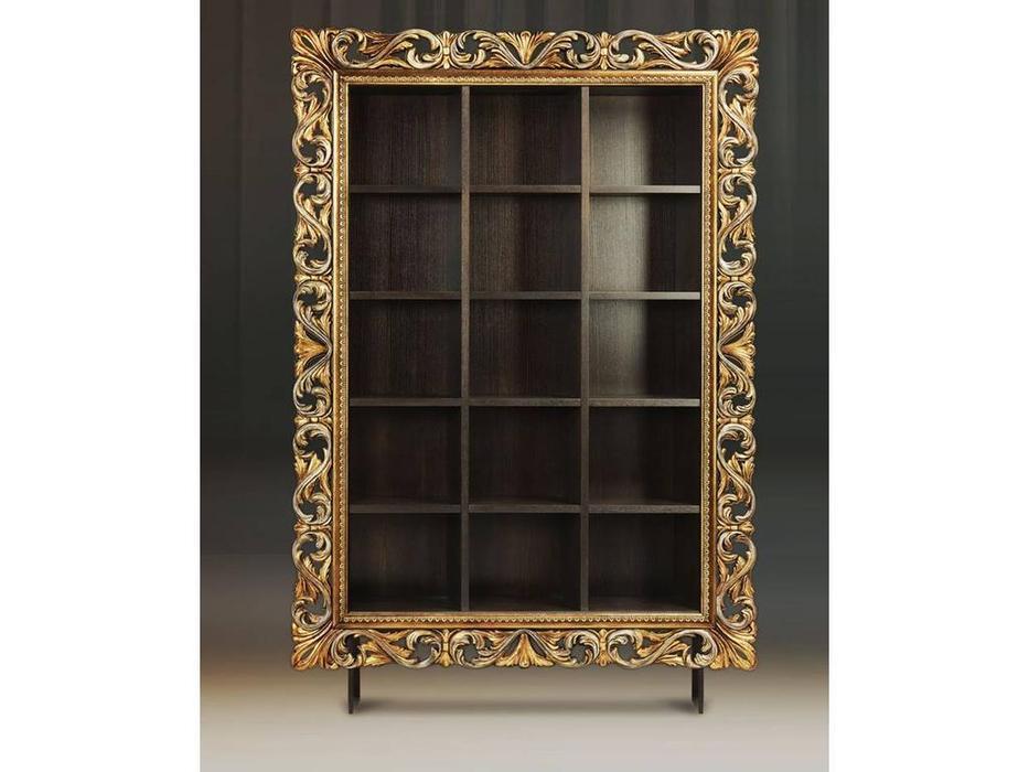 Tivoli: Винченцо: стеллаж для книг (мореный дуб, гранж)