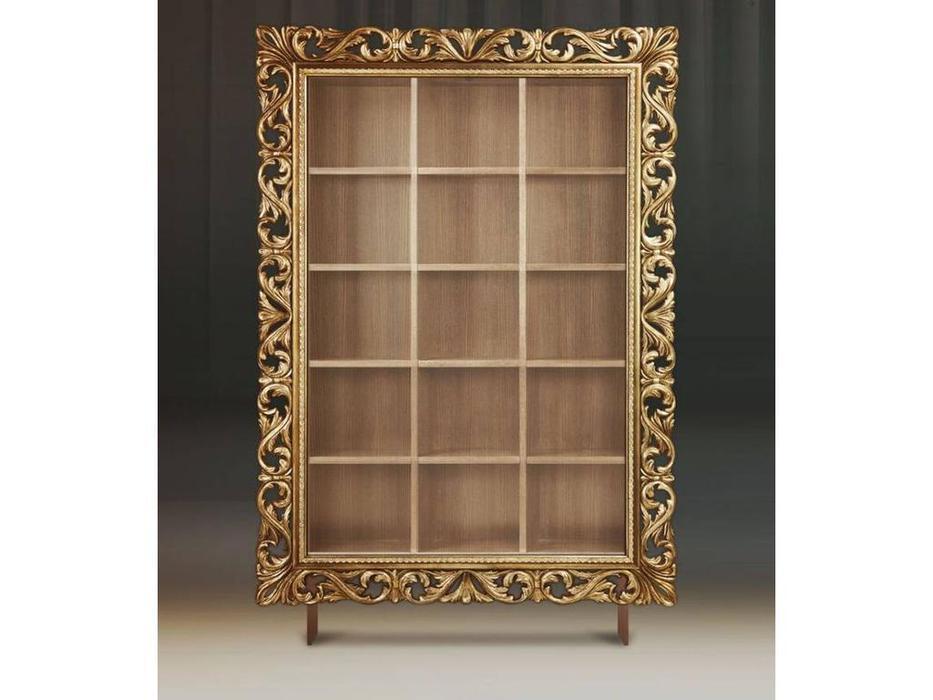 Tivoli: Винченцо: стеллаж для книг (патина, голд)