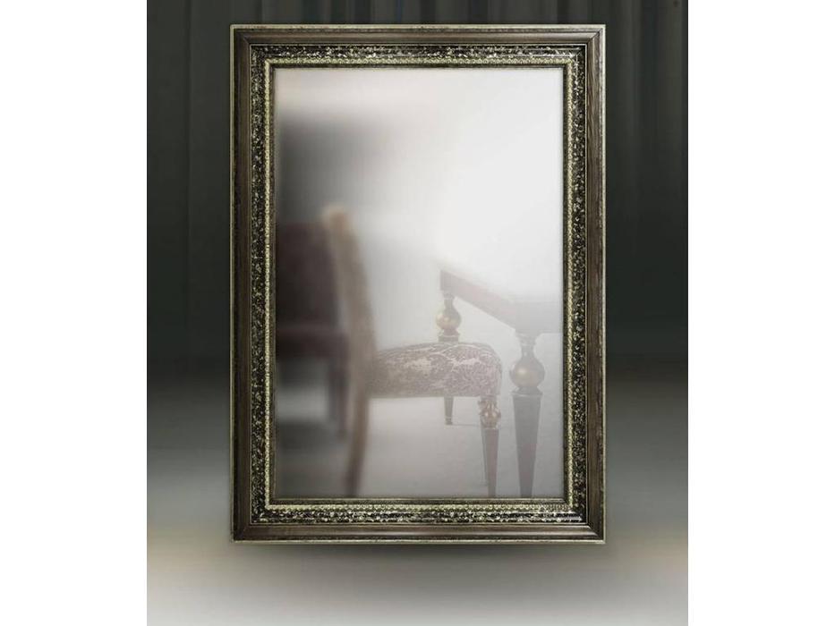 Tivoli: Фоджи: зеркало настенное «Фоджи» (фреска-Сильвер)