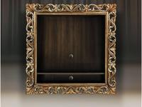 Tivoli: Винченцо: панель под ТВ с полкой (мореный дуб, гранж)