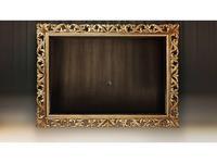 Tivoli: Винченцо: панель под ТВ (мореный дуб, голд)