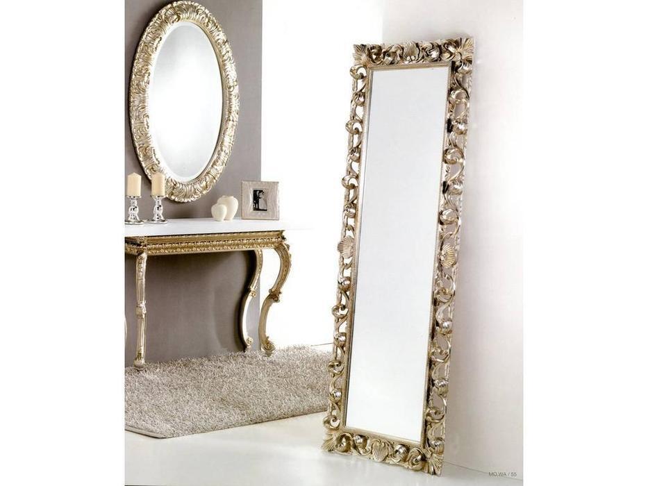 MoWa: зеркало напольное  68х183 (серебро)