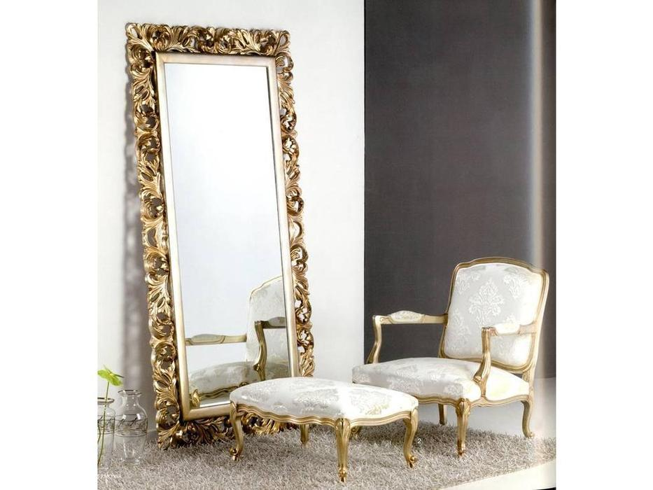 MoWa: зеркало напольное  106х208 (серебро)