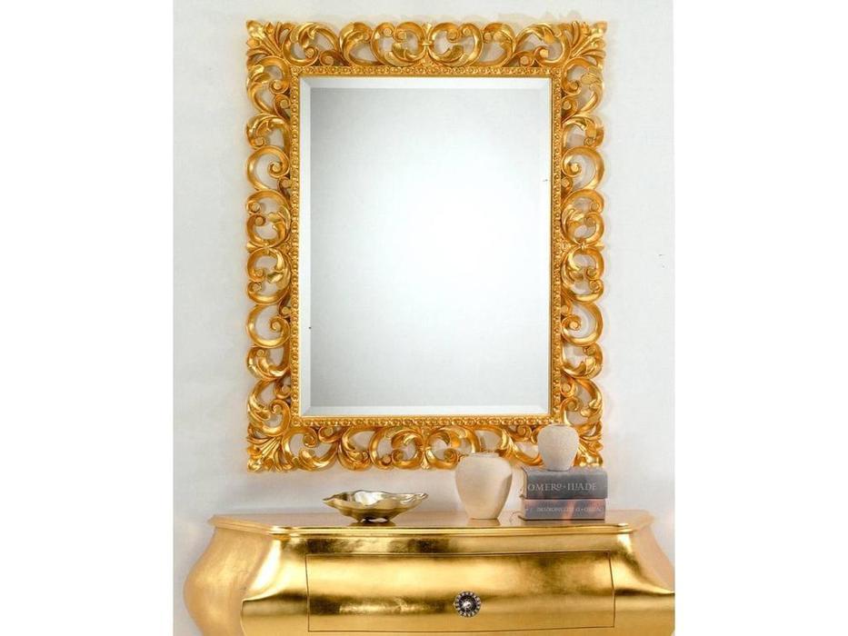 MoWa: зеркало настенное  86х106 (золото)