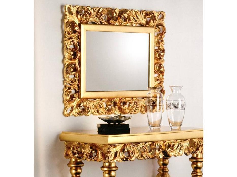 MoWa: зеркало настенное  108х87 (золото)