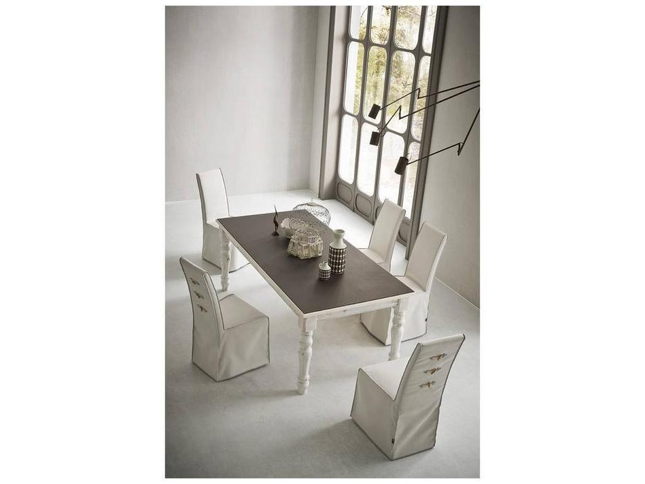 Sedit: Pascal Vintage: стол обеденный  (белый)
