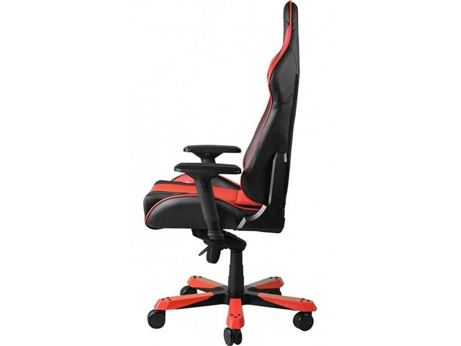 DXRacer: King: кресло компьютерное  (черный, красный)