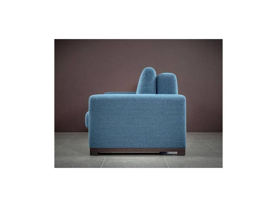 Liberty: Sirius: диван 3-х местный  раскладной (голубой)
