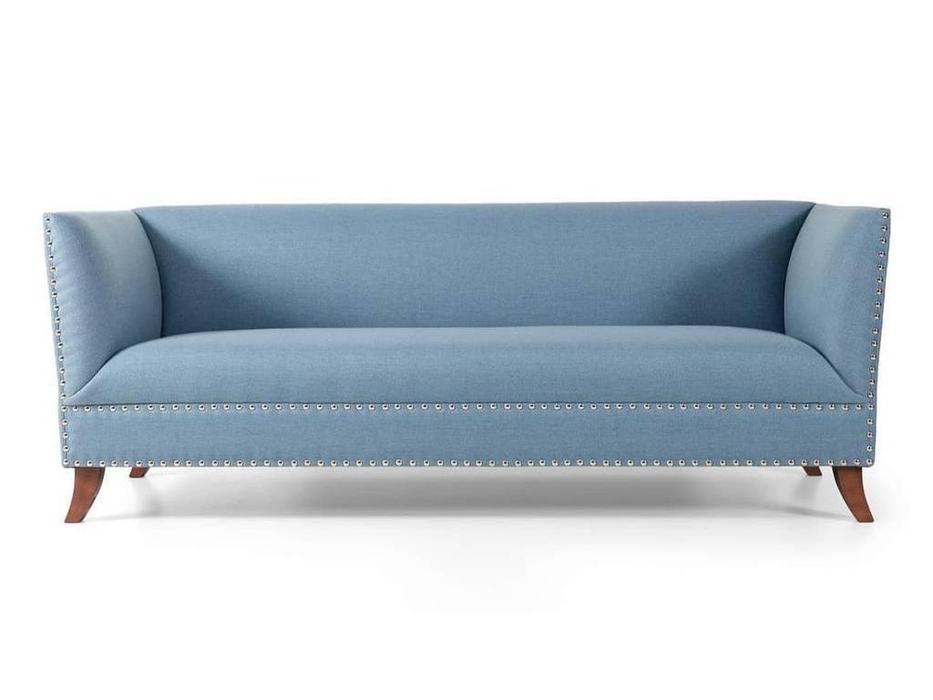 Liberty: Cardinal: диван 3-х местный  (голубой)