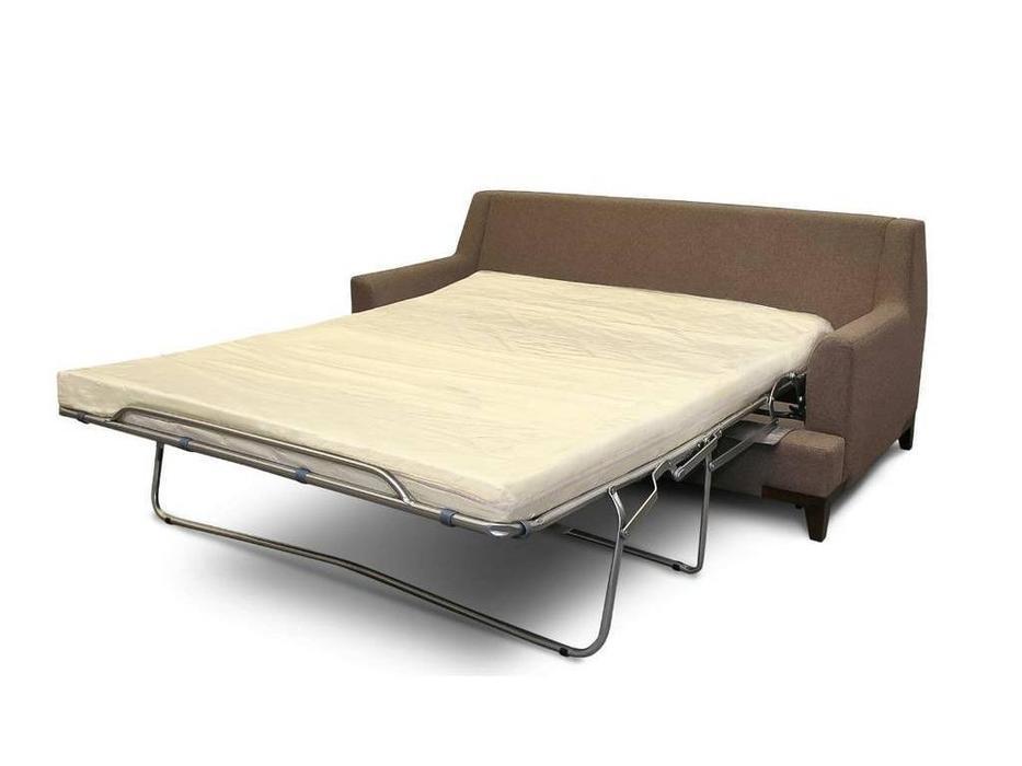 Liberty: Детройт: диван 2 местный  раскладной ткань (коричневый)