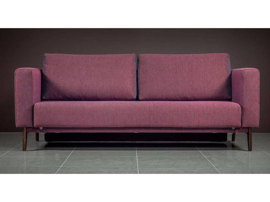 Liberty: Бруни: диван 3 местный  раскладной Бруни-2 (бордо)