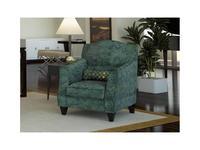 Liberty: Bergamo: кресло  ткань (зеленый)