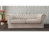 Liberty: Worchester: диван 3-х местный  раскладной ткань (светлый беж)