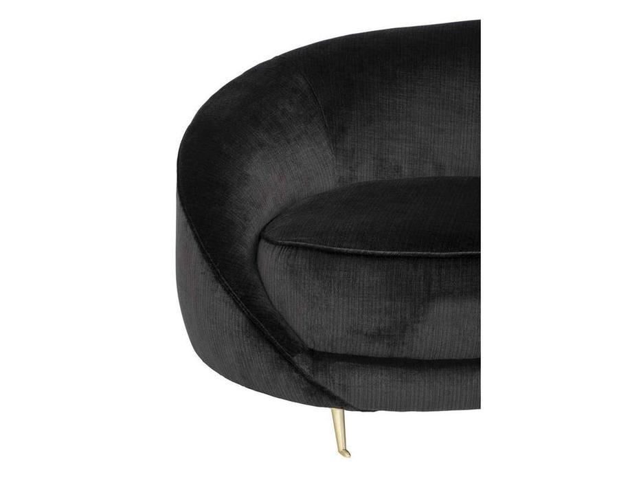 Eichholtz: Esmeralda: диван 3-х местный  (черный)
