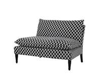 Eichholtz: Maxwell: диван 2-х местный  (черный)