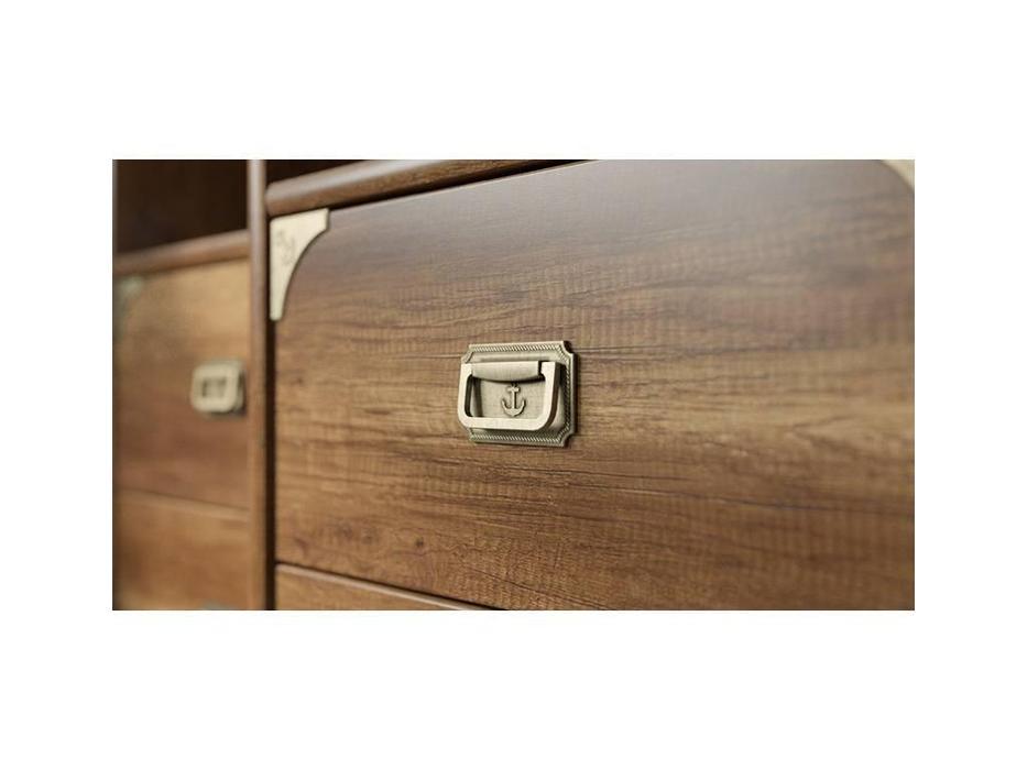 Triya: Навигатор: шкаф 1 дверный без иллюминатора  (дуб каньон)