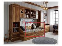 Triya: Навигатор: ограничитель  для кровати (коричневый)