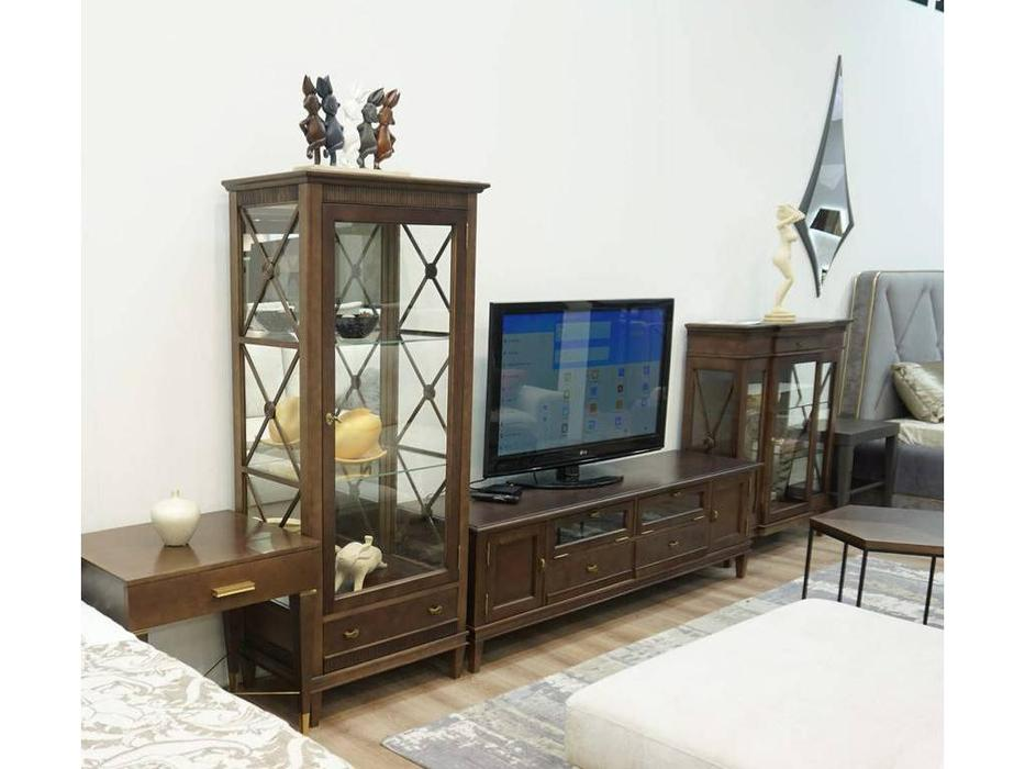 Zzibo Mobili: Degamo: стенка в гостиную (орех фумо)