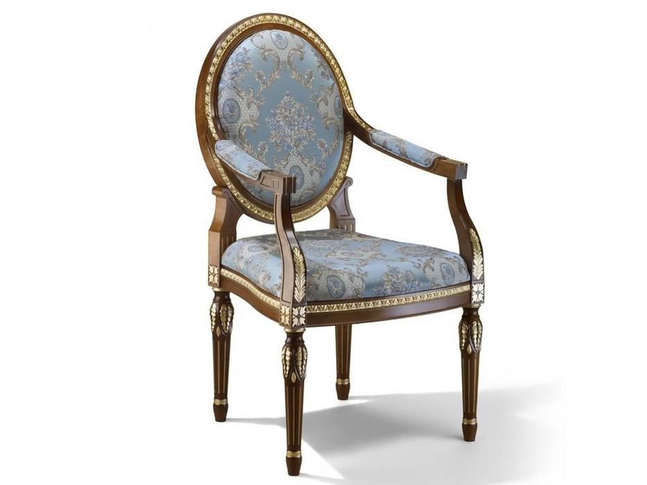 Zzibo Mobili: Александрия: кресло  (орех, золото)