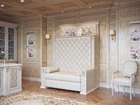 Благо: диван 2-х местный  раскладной (карамель)