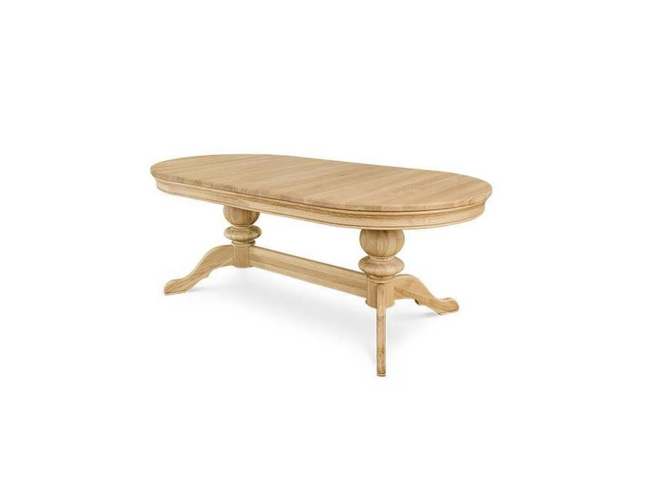 Сlemencerichard: Moreno: стол обеденный  200см раскладной (white oil)