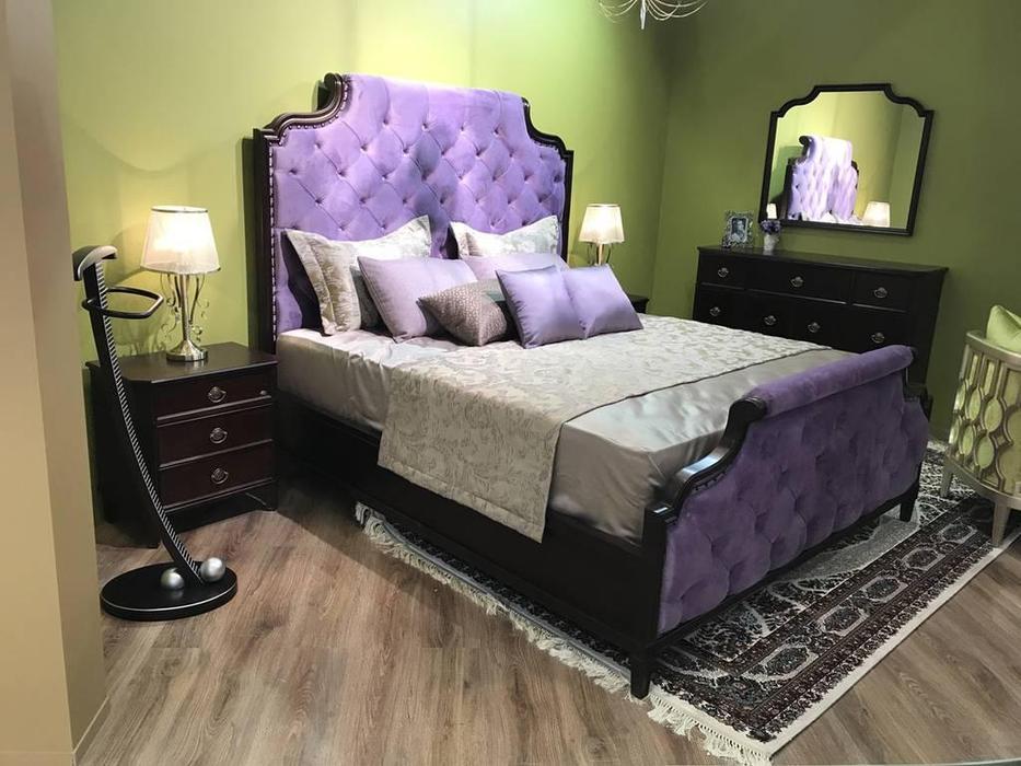 Zzibo Mobili: Vegas: кровать 180х200  (американский орех)