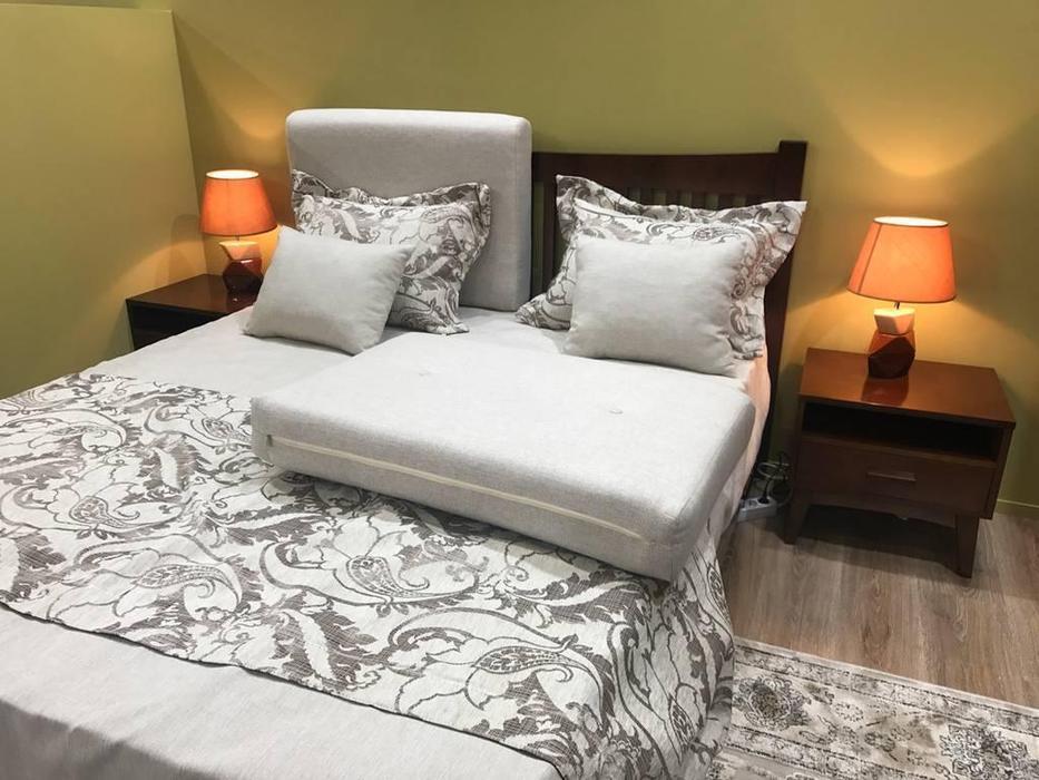 Zzibo Mobili: Nice: кровать 180х200 (орех)