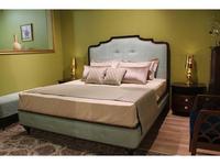 Zzibo Mobili: Оскар: кровать 180х200 ткань Velvet LUX (шоколад, ткань беж)