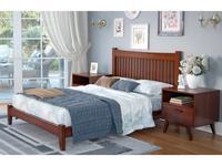 Zzibo Mobili: Nice: кровать 160х200 (орех)