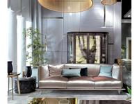 Elledue: Ulysse: диван 3-х местный (ткань)
