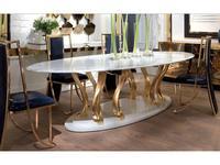 Elledue: Ottaviano: стол обеденный (мрамор)