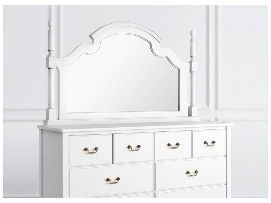 LAtelier Du Meuble: Villar: зеркало настенное  (белый антик с патиной)