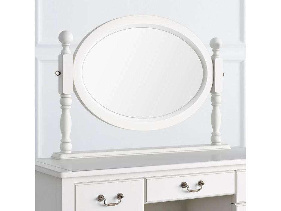 LAtelier Du Meuble: Villar: зеркало  макияжное (белый антик с патиной)