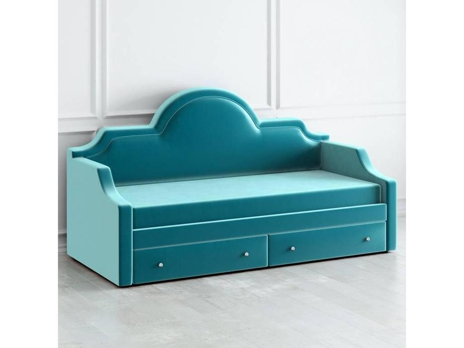 LAtelier Du Meuble: Day Bed: кровать 100х200  (бирюзовый)