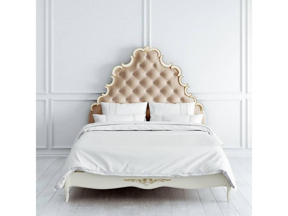 Latelier Du Meuble: Atelier Gold: кровать  160х200 (слоновая кость, золото)
