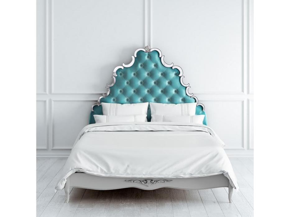 Latelier Du Meuble: Atelier Home: кровать  160х200 (серо-бежевый, серебро)