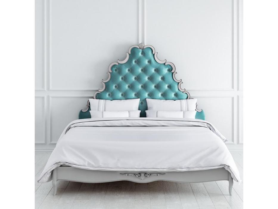 Latelier Du Meuble: Atelier Home: кровать  180х200 (серо-бежевый, серебро)