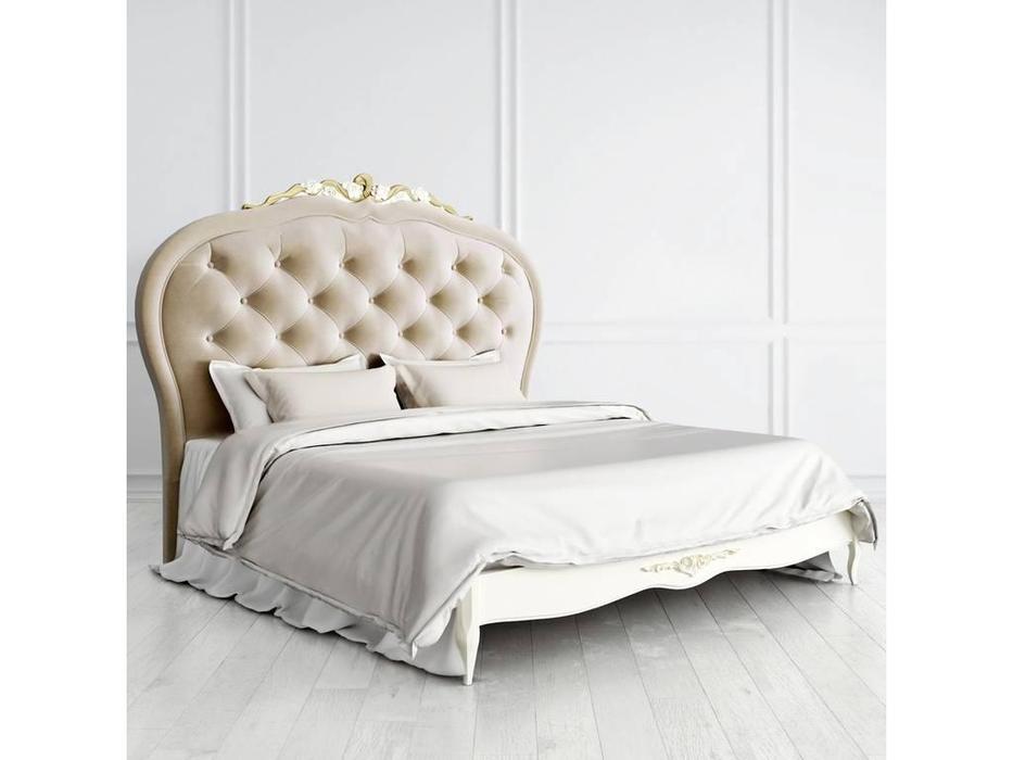 Latelier Du Meuble: Romantic Gold: кровать  180х200 (слоновая кость, золото)